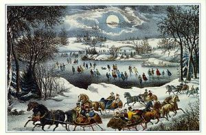Currier and Ives - Central Park